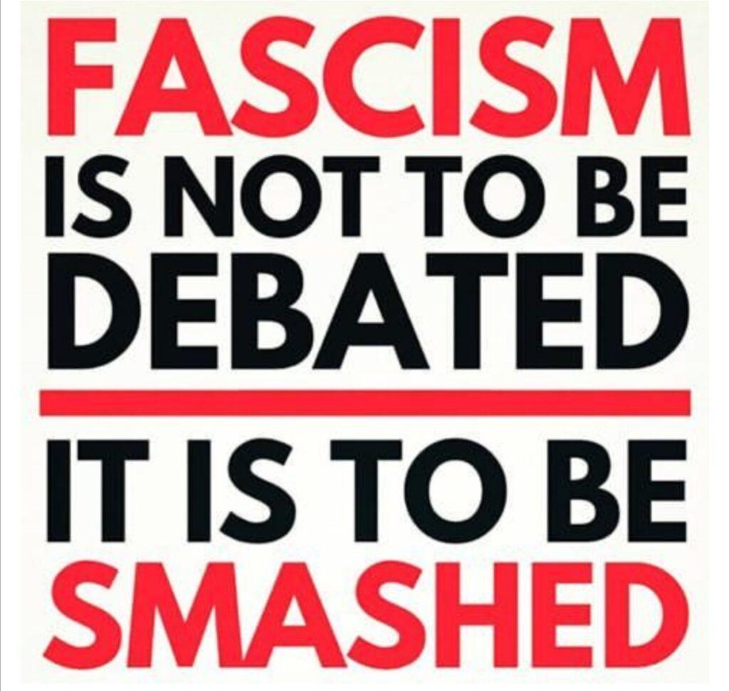 neonazi's niet welkom