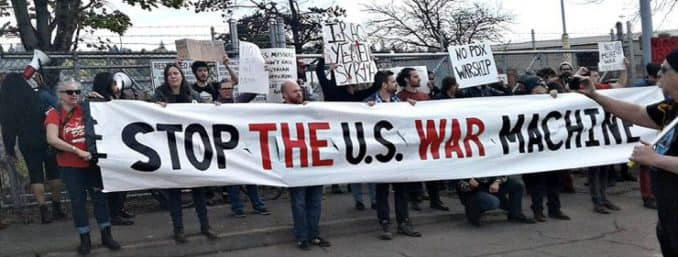 Stop the US warmachine