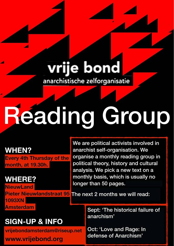Vrije Bond Amsterdam Leesgroep