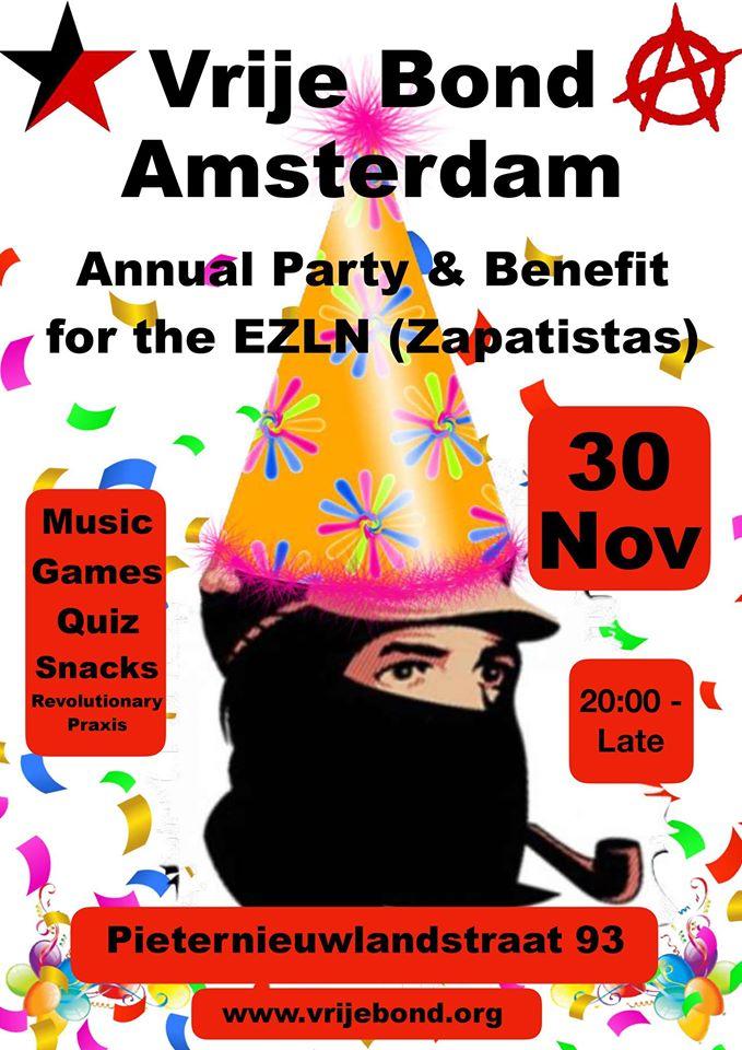 Vrije Bond Amsterdam feest