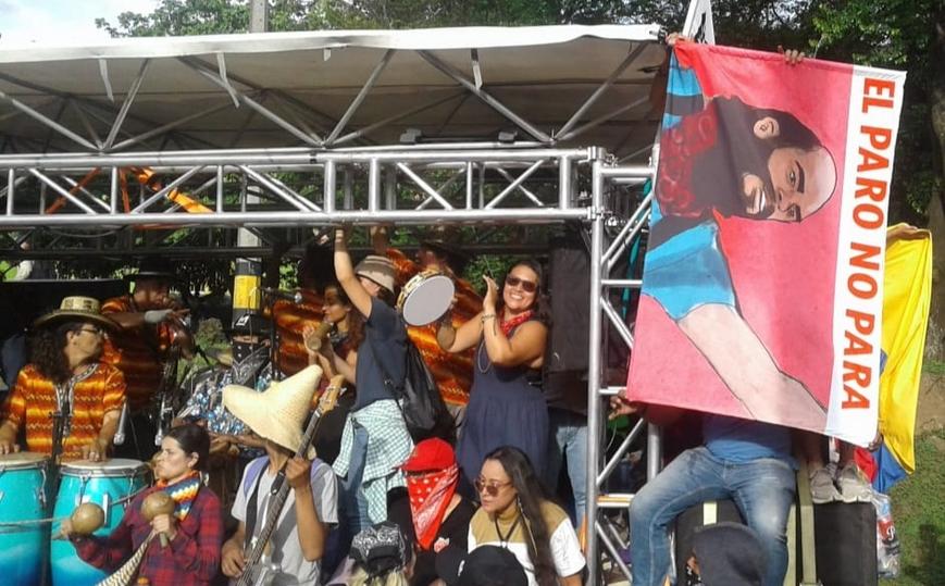 columbia paro nacional optreden