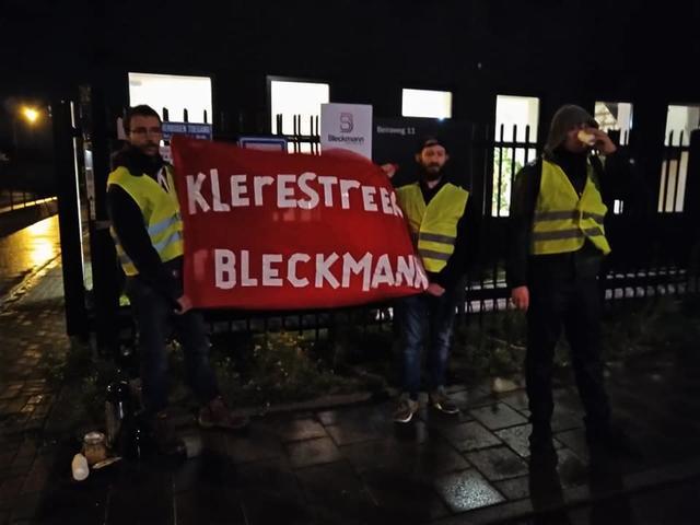 Vloerwerk: Vroege Poortactie bij Bleckmann