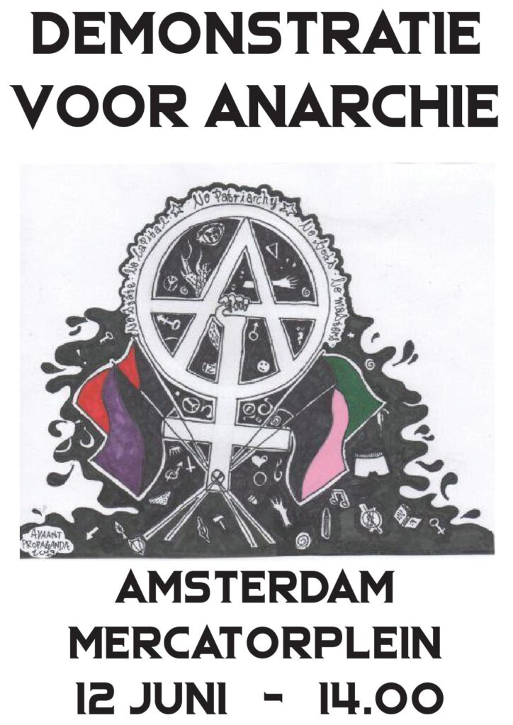 demonstratie voor anarchie
