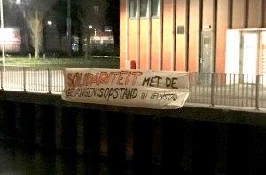 Solidariteit met de gevangenisopstand in Lelystad