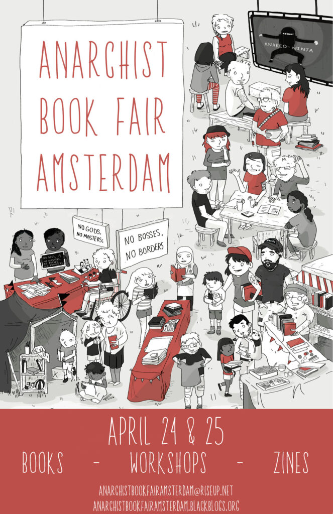 anarchist book fair amsterdam